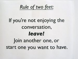 Rule of Two Feet