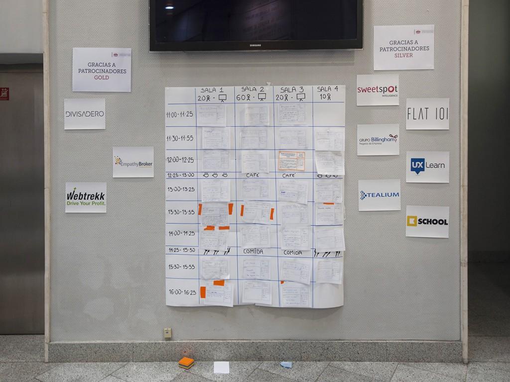 El Tablón del MeasureCamp Madrid