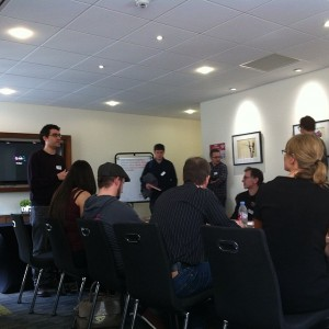 Una sesión del MeasureCamp